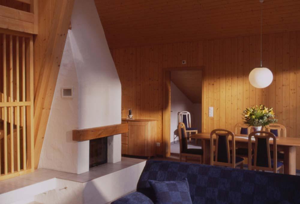 Blick in das 3-Zimmer Apartment im Hotel Bodmi