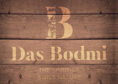 Das Logo des Bodmi Hotel